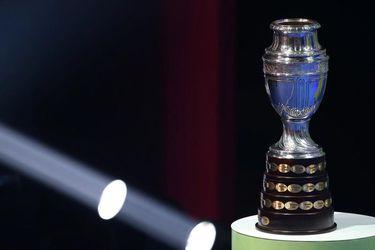 El trofeo de la Copa América. FOTO: Reuters.