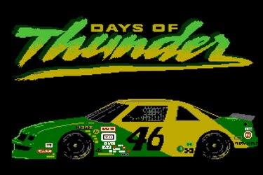 Recrean el perdido juego de NES basado en la película 'Days of Thunder'