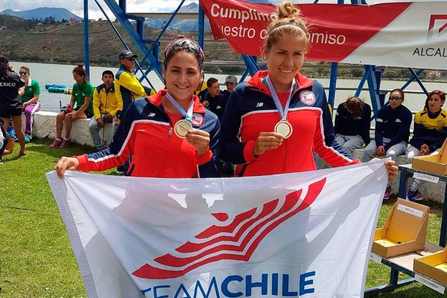 Team Chile, Canotaje,  Karen Roco,  María José Mailliard