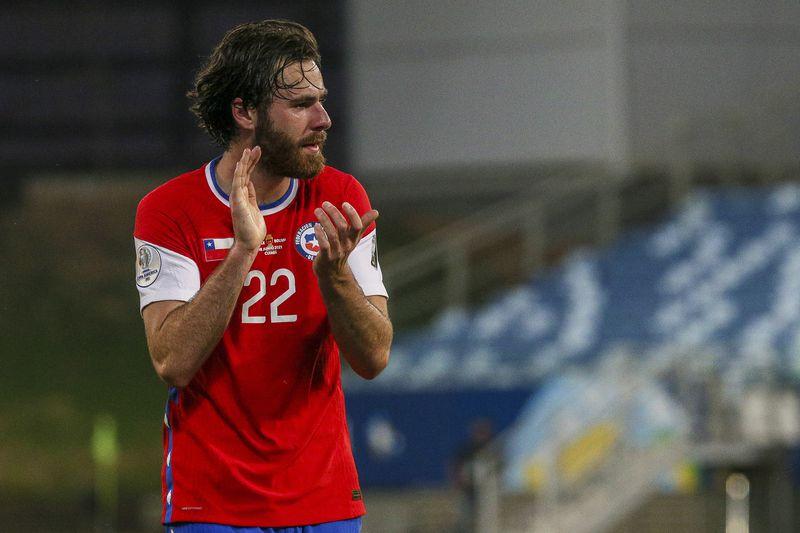 Ben Brereton Díaz anotó el gol del triunfo de Chile ante Bolivia.