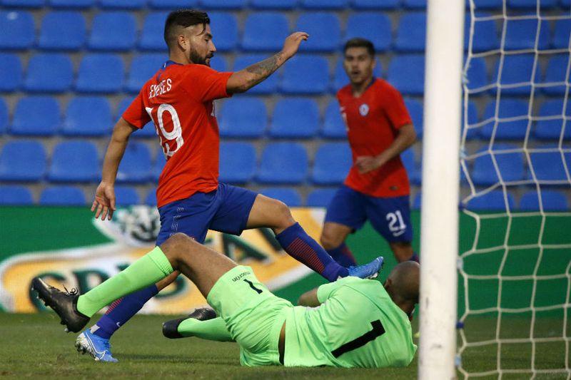 Jean Meneses   Chile vs Guinea   Alicante, 2019