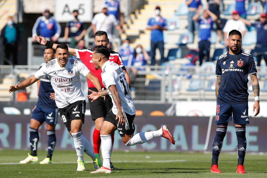 Universidad de Chile y Colo Colo se miden en Rancagua. Sigue el partido minuto a minuto.