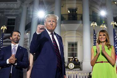 """Trump dice tras su absolución que su movimiento patriótico """"acaba de comenzar"""""""