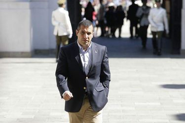 El exdiputado de la UDI, Gustavo Hasbún. Foto: Pedro Cerda /AGENCIAUNO.