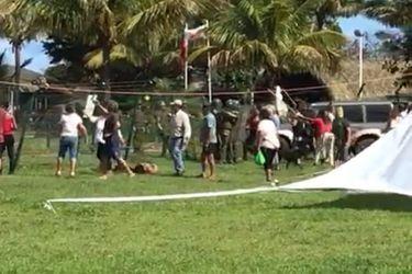 Gobierno anuncia querellas por manifestaciones en aeropuerto de Rapa Nui