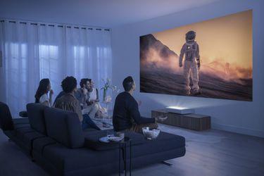 Conozcan a The Premiere, el nuevo proyector 4K de alcance ultracorto de Samsung
