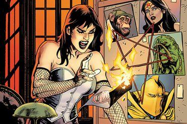 Amancay Nahuelpán dibujará el cómic de Liga de la Justicia Oscura