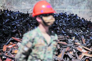 Gobierno: decomisos de armas de fuego se duplicaron este año