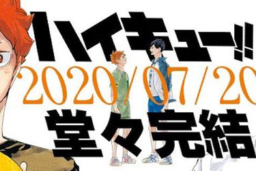 El manga de Haikyu!! finalizará el próximo 20 de julio