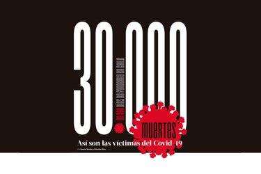 30.000 muertes: así son las víctimas del Covid-19