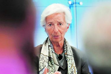 US-IMF-DIRECTOR-CHRISTINE-LAGARDE-PARTICIPATES-IN-AEI-DISCUSSION