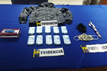 PDI detiene a presunto autor del robo de 20 millones de pesos en banco de Las Condes