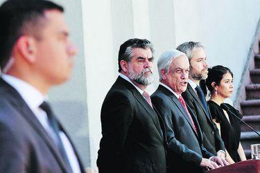 Imagen Piñera Seguridad Protestas 32