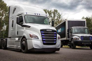 Daimler y Volvo se unen para desarrollar  el camión a hidrógeno del futuro