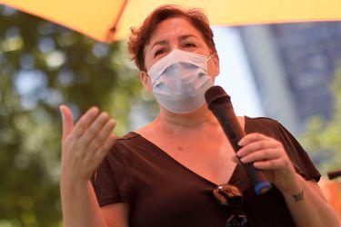 """Beatriz Sánchez (Ind-RD): """"No se trata de instalar un árbol de pascua lleno de derechos en la nueva Constitución"""""""