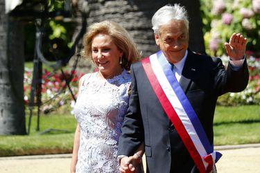 Pinera llega a Cerro Castillo