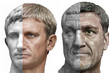 ¿Cómo era el verdadero rostro de Calígula, Nerón o Augusto? Artista logra impresionante reconstrucción de las caras de emperadores romanos