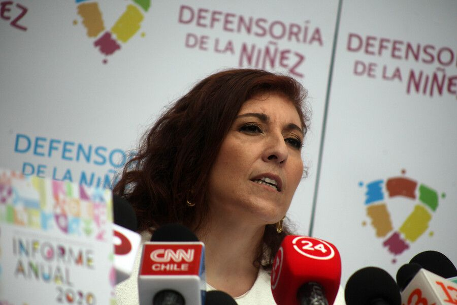 La Defensora de la Niñez, Patricia Muñoz.