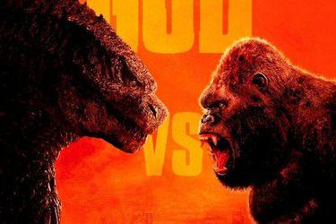 Godzilla recibe un combo de Kong sobre un portaviones en un pequeño adelanto de la película