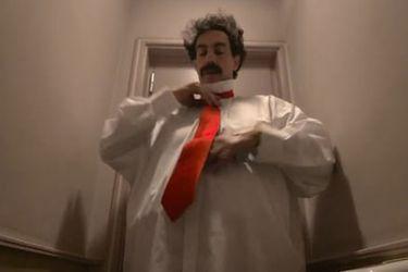 Borat se disfraza para recorrer Estados Unidos en el tráiler de Borat: Subsequent Moviefilm