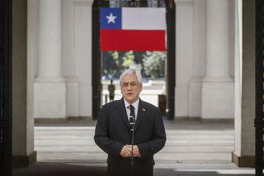 """""""Para nosotros la muerte de toda persona es un dolor profundo"""": Piñera llama a """"deponer, desterrar y terminar con la violencia"""" tras deceso de carabinero"""