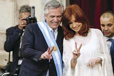 Argentina's-President-Alberto--Fernandez-and-Vice-President-Cristina-Fernandez-de-Kirchner-flash-(47519377)