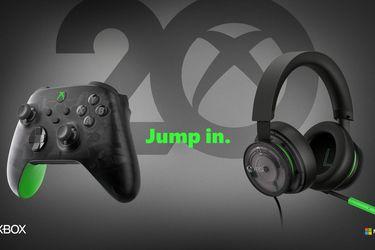 Microsoft anuncia control especial para celebrar el 20° aniversario de Xbox