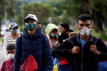 Efecto pandemia: inmigrantes crecen menos de 1% en 2020