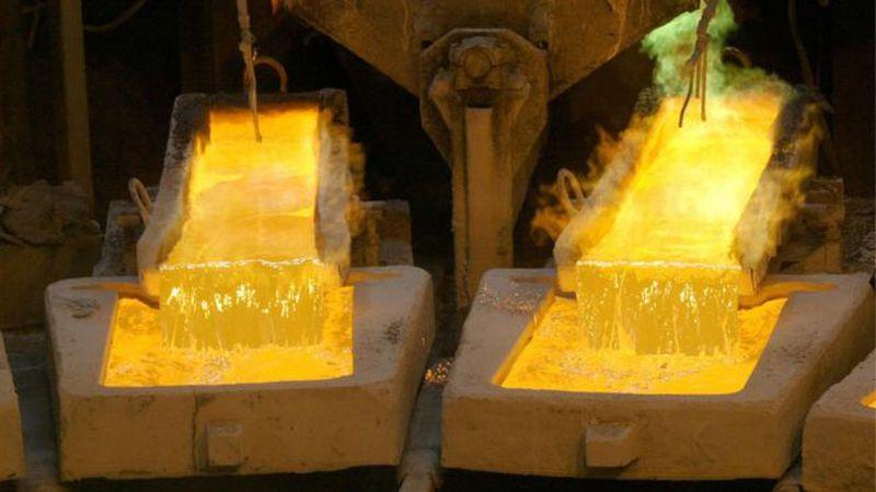 El precio del cobre subió 30% en el último año.