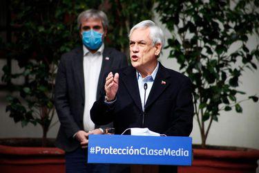 Piñera se reúne con dirigentes de Chile Vamos en medio de tensión en el bloque: encuentros son por separado