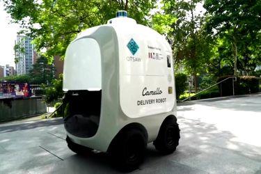 Empresas de tecnología están probando robots delivery en barrios de Singapur