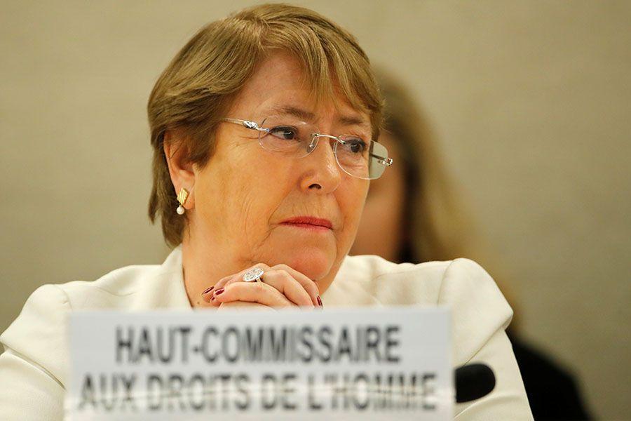 Alta Comisionada DDHH Michelle Bachelet