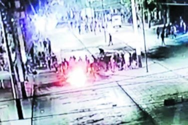 Prisión para nueve imputados por ataque a comisaría de Peñalolén