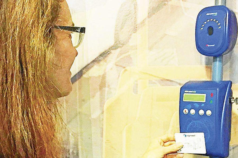 transantiago evasión reconocimiento facial