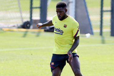 Umtiti es el positivo del Barcelona