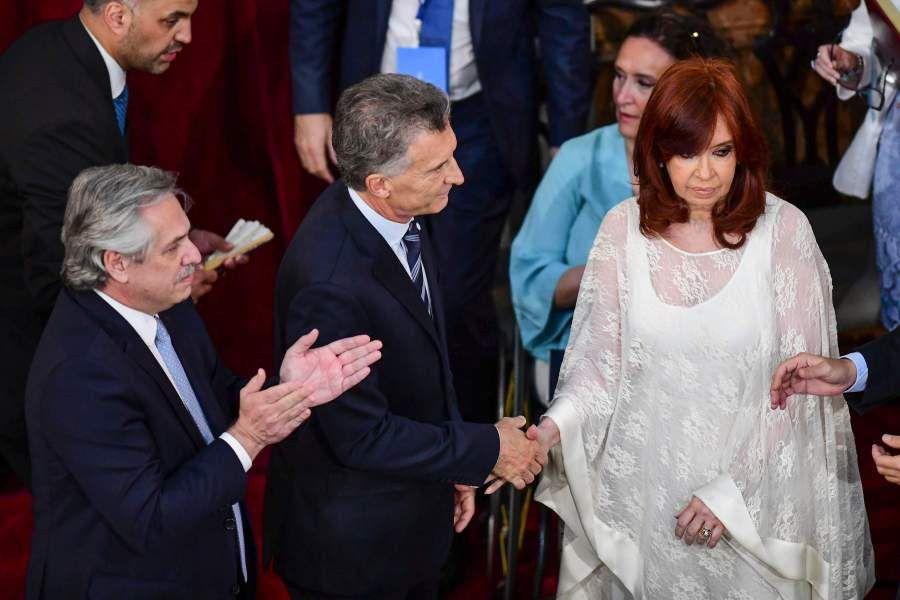 Cambio de mando en Argentina. Foto: AFP.