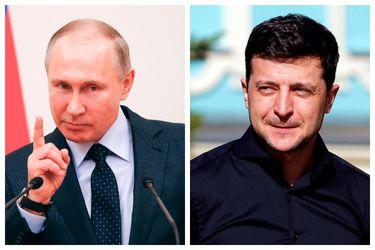 Putin Zelensky