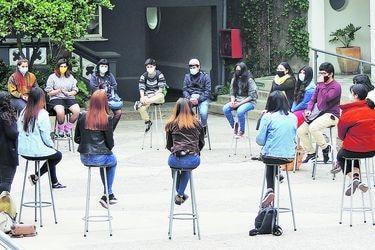 """Alumnos de primer año son el foco del """"plan retorno"""" de los planteles de educación superior"""