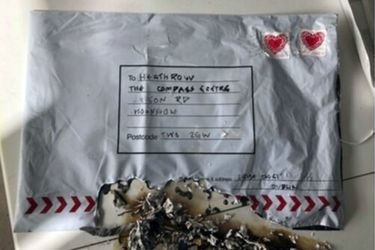 Paquetes sospechoso en Londres