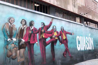 El hermoso mural del Joker que apareció pintado en Santiago de Chile