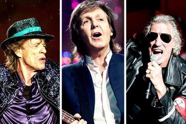 """""""Los Beatles son mejores que los Rolling Stones"""" y """"Gilmour se cree dueño de Pink Floyd"""": los clásicos del rock reviven sus cuentas pendientes en cuarentena"""