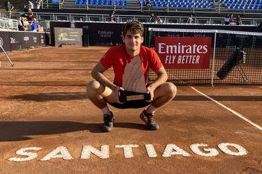Campeón del ATP de Santiago es el primer tenista que contrae coronavirus