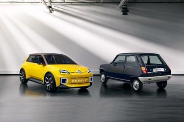 El Renault 5 Prototype y el Renault 5 original se dan cita en Múnich