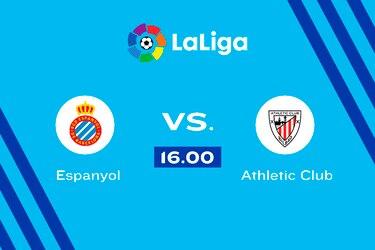 Espanyol vs. Athletic Club, 16.00 horas