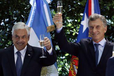 Antes del fail: Cuando Macri fue modelo para la derecha chilena