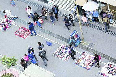 Permisos para comercio ambulante en Santiago