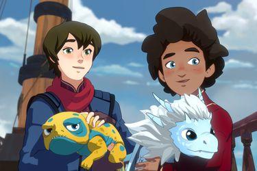 The Dragon Prince estrenó el tráiler de su segunda temporada