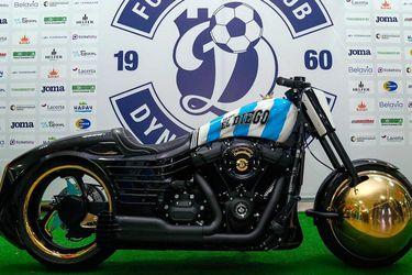 La moto más especial de Diego Armando Maradona