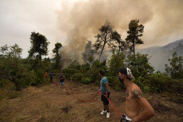 Incendios cumplen 10 días en Grecia: cerca de 650 bomberos combaten las llamas