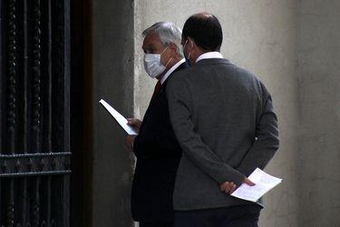 """¿Y si Piñera se contagia? La Moneda ya tiene un protocolo """"secreto"""""""